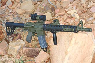 AR-15 with Aimpoint Mount