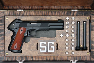 1911 Longslide in custom case