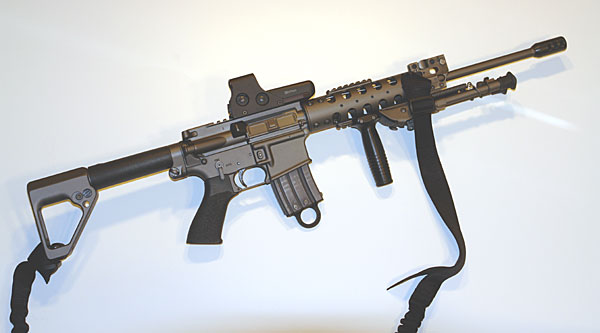 AR-15 with Eotech sight