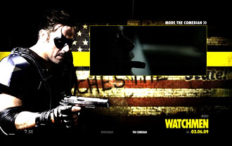 D&L Sports™ Movie Guns in the Watchmen