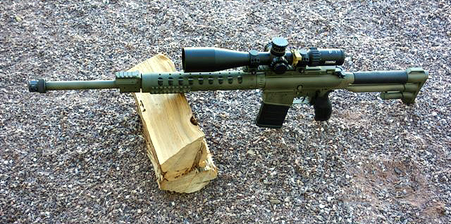 AR15 with Stock and Handguard