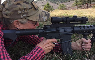 AR-15 1.5x-4x lightweight scope