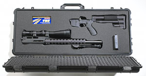 AR-15 and case