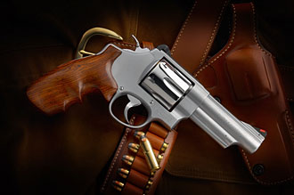 Randy Couture's custom .44 magnum