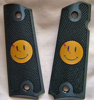 Watchmen Smiley Face 1911 Grips
